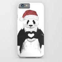 Santa Panda iPhone 6 Slim Case