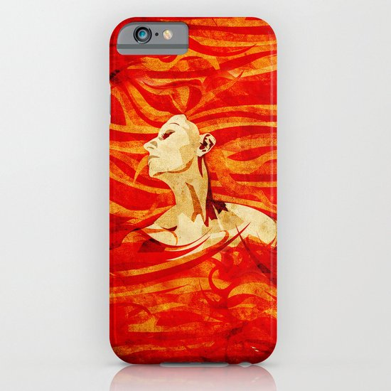 Caught on Fire iPhone & iPod Case