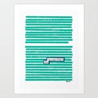 Learn Art Print