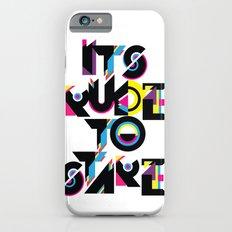 It's Rude To Stare Slim Case iPhone 6s
