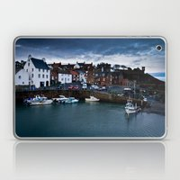 Fishing Harbor Laptop & iPad Skin