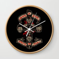 Appetite For Flesh Wall Clock