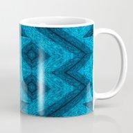 Blue Mask Mug