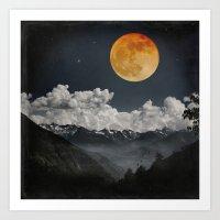 Moon Melodies Art Print
