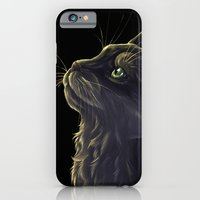 Cat and the light  iPhone 6 Slim Case