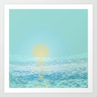 Morning ~ The Summer Ser… Art Print