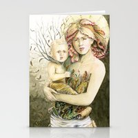 Mother Earth To Her Chil… Stationery Cards