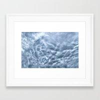 Mammatus Cloud Panorama Framed Art Print