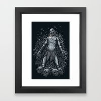 Winter Is Here Framed Art Print