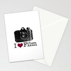 I ♥ Film Stationery Cards