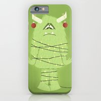 iPhone & iPod Case featuring Holiday Monster by Gavin Thompson