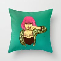 Fool me once... Throw Pillow