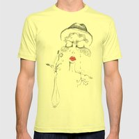 Love is Old, Love is New Mens Fitted Tee Lemon SMALL