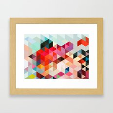 Heavy words 01. Framed Art Print