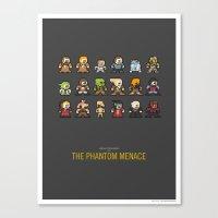 Mega Star Wars: Episode … Canvas Print