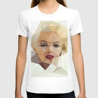 portrait T-shirts featuring Monroe. by David