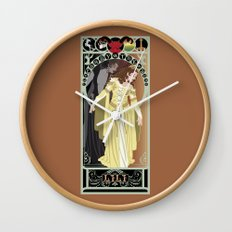 Lili Nouveau - Legend Wall Clock