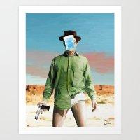 Les Cristaux De L'Homme Art Print