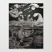 Jupiter's Guide For Submariners Canvas Print