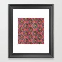 MOROCCAN SUNSET Framed Art Print