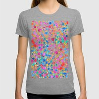 Magic Womens Fitted Tee Tri-Grey SMALL