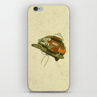 Born To Party iPhone & iPod Skin
