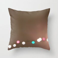 Christmas Lights. Throw Pillow