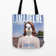 Llama Del Rey Tote Bag