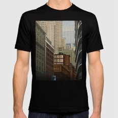 Labyrinth SMALL Black Mens Fitted Tee