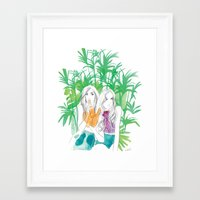 Tropico Framed Art Print