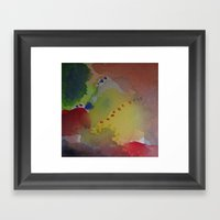 Watercolor Abstract Mini… Framed Art Print