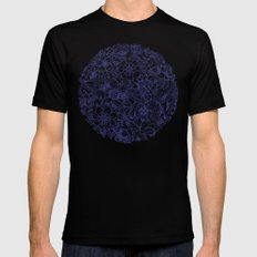 Circle of Friends Black Mens Fitted Tee SMALL
