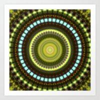 Celestial Cymatics Art Print