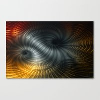 Metallic Spin Canvas Print