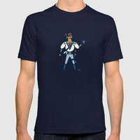 Captain Junco Mens Fitted Tee Navy SMALL