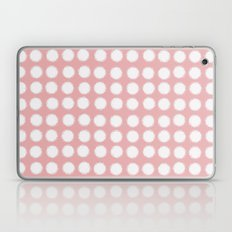milk glass polka dots pink Laptop & iPad Skin