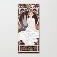 Childlike Empress Nouveau - Neverending Story Canvas Print
