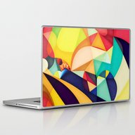 Laptop & iPad Skin featuring Poetry Geometry by Anai Greog