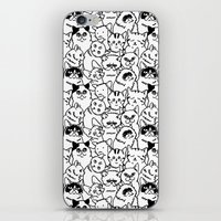 Oh Cats iPhone & iPod Skin