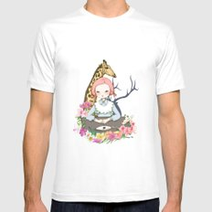Jenny Eat Breakfast SMALL White Mens Fitted Tee