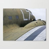 War Plane Canvas Print