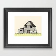old house Framed Art Print