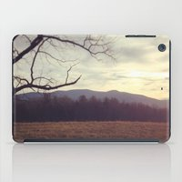 Golden Mountains iPad Case