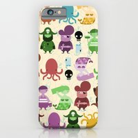 iPhone & iPod Case featuring pirate pattern by serenita