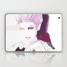 Ethno fashion illustration Laptop & iPad Skin