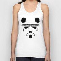 Panda Trooper Unisex Tank Top