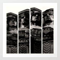 Guardians of Traffic Art Print