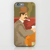 Card players by Cezanne iPhone 6 Slim Case