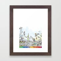 you're COLOR - Page 9 Framed Art Print