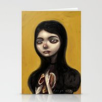 A Hunger That Will Not G… Stationery Cards